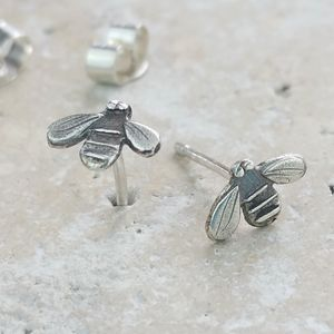 Bumble Bee Stud Earrings Anna's Silver