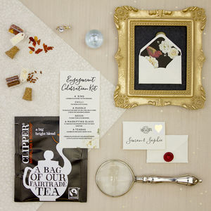Personalised Engagement Congratulations Gift