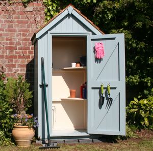 Sentry Box Tool Store - new in garden