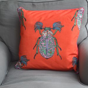 'Lovebugs' Cushion