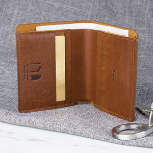 Luxury Leather Traditional Bi Fold Wallet - 50th birthday gifts
