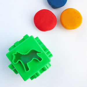 Cube Dough Cutter - toys & games