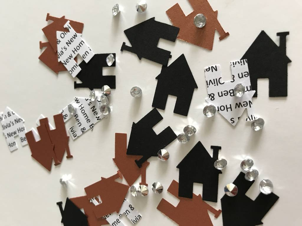 Personalised New Home Housewarming Confetti