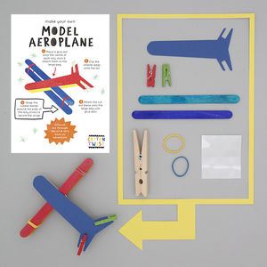 Make Your Own Model Aeroplane Kit - party bags and ideas