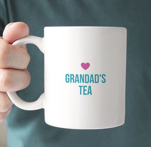 Grandad's Personalised Message Mug - mugs