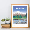 Mount Taranaki, New Zealand Print