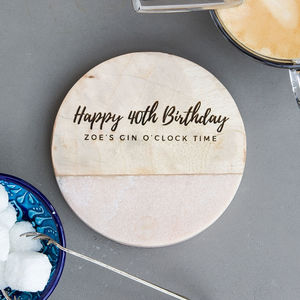 Personalised Coffee/Tea Birthday Gift