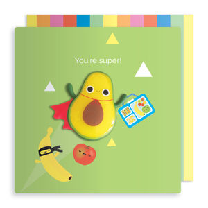 Avocado Jelly Magnet Card