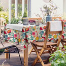 Midsummer Morning Water Resistant Outdoor Tablecloth