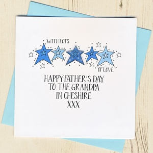 Personalised Best Grandad In… Father's Day Card - father's day cards