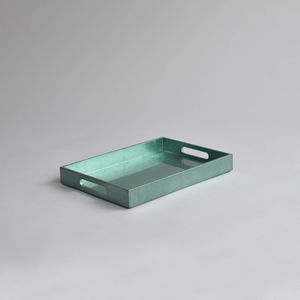 Small Lacquered Drinks Tray - tableware