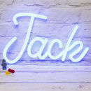 Personalised LED Neon Light Up Name