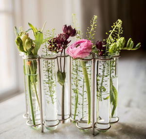 W Shaped Test Tube Vase - home accessories