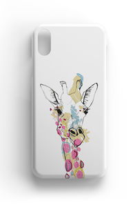 Giraffe Illustrated Phone Case iPhone Samsung