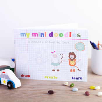 Mini Alphabet Doodles Book