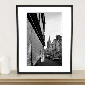 Cathedral, Rouen Photographic Art Print
