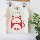 Personalised Organic Cotton T Shirt