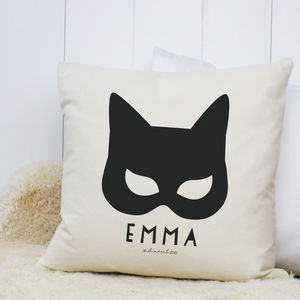 Personalised 'Catwoman' Cushion - whatsnew