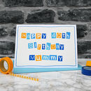 Personalised Womens 40th Birthday Card