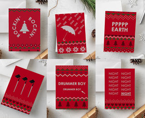 Funny Christmas Card Pack: Christmas Dingbats - sale