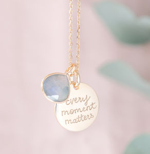 Personalised Gemstone Necklace - jewellery
