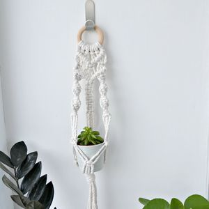 Macrame Plant Wall Hanger - decorative accessories