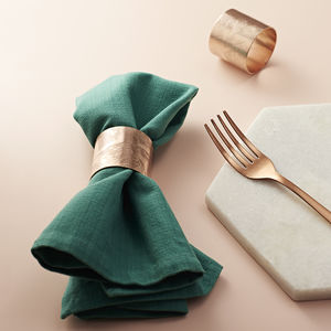 Handmade Copper Napkin Rings