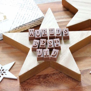 Chocolate Treat Especially For Dad - best gifts for fathers