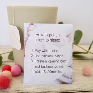 New Mum Tea Gift - baby shower invitations