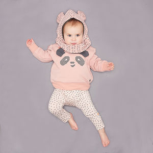 'Shizzle' Organic Cotton Baby Legging - clothing