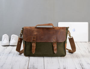Postman Shoulder Messenger Bag - men's accessories