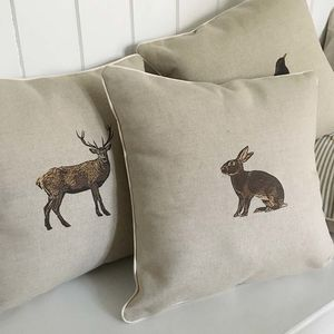 Country Animals Cushion Range