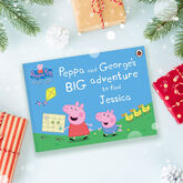 Peppa Pig: Big Adventure Personalised Book - christening