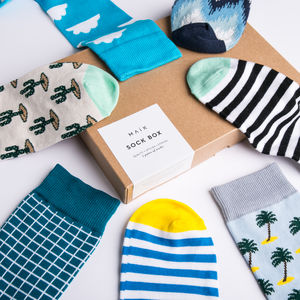 Build Your Own Sock Box Gift For Men - gifts for him