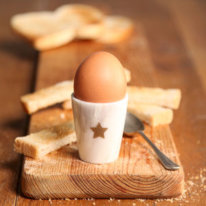 Marble Star Egg Cup - new in home