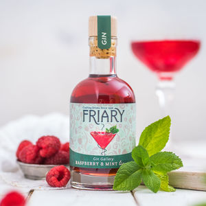 Raspberry And Mint Gin Liqueur