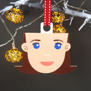Personalised Auntie Christmas Decoration