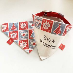 Christmas Design Dog Bandana Neckerchief