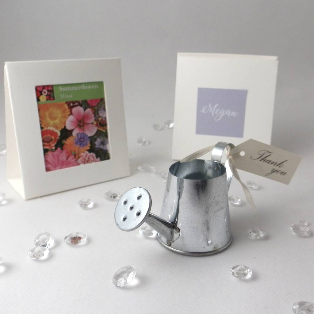 Outstanding Watering Can Wedding Favors Elaboration - Wedding Dress ...