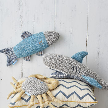 Under The Sea Soft Knitted Toys Set