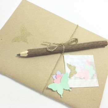 Fairy Journal And Pencil Party Favour