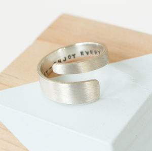 Personalised Twister Ring - rings