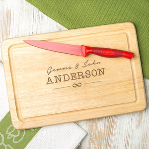 Personalised Images Wedding Rectangular Board - tableware
