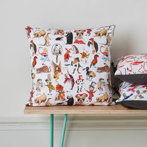 Alice In Wonderland Character Cushion - cushions