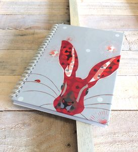 Spiral Bound A5 Hard Backed Jotter