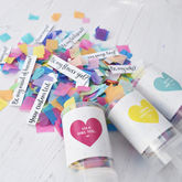 Personalised Secret Question Confetti Pop - weddings