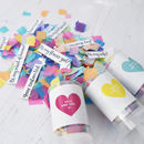 Personalised Secret Question Confetti Pop