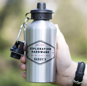 'Exploration' Personalised Water Bottle - kitchen
