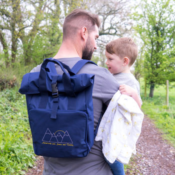 Personalised Men's Baby Changing Bag For Adventures