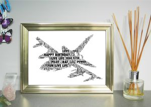 Helicopter Tornado And Typhoon Personalised Print